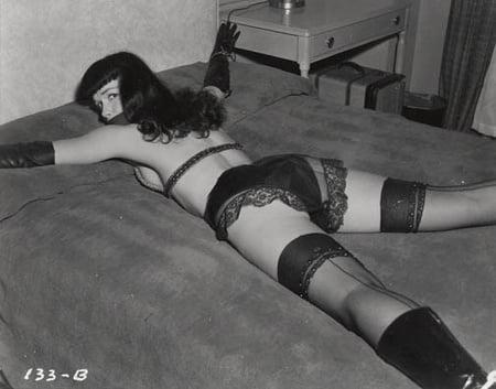 Betty Page Bondage