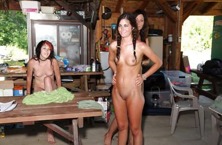 naked teen girls at camp