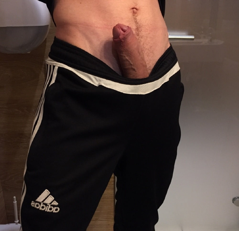 amateur-penis-sticking-out-of-shorts