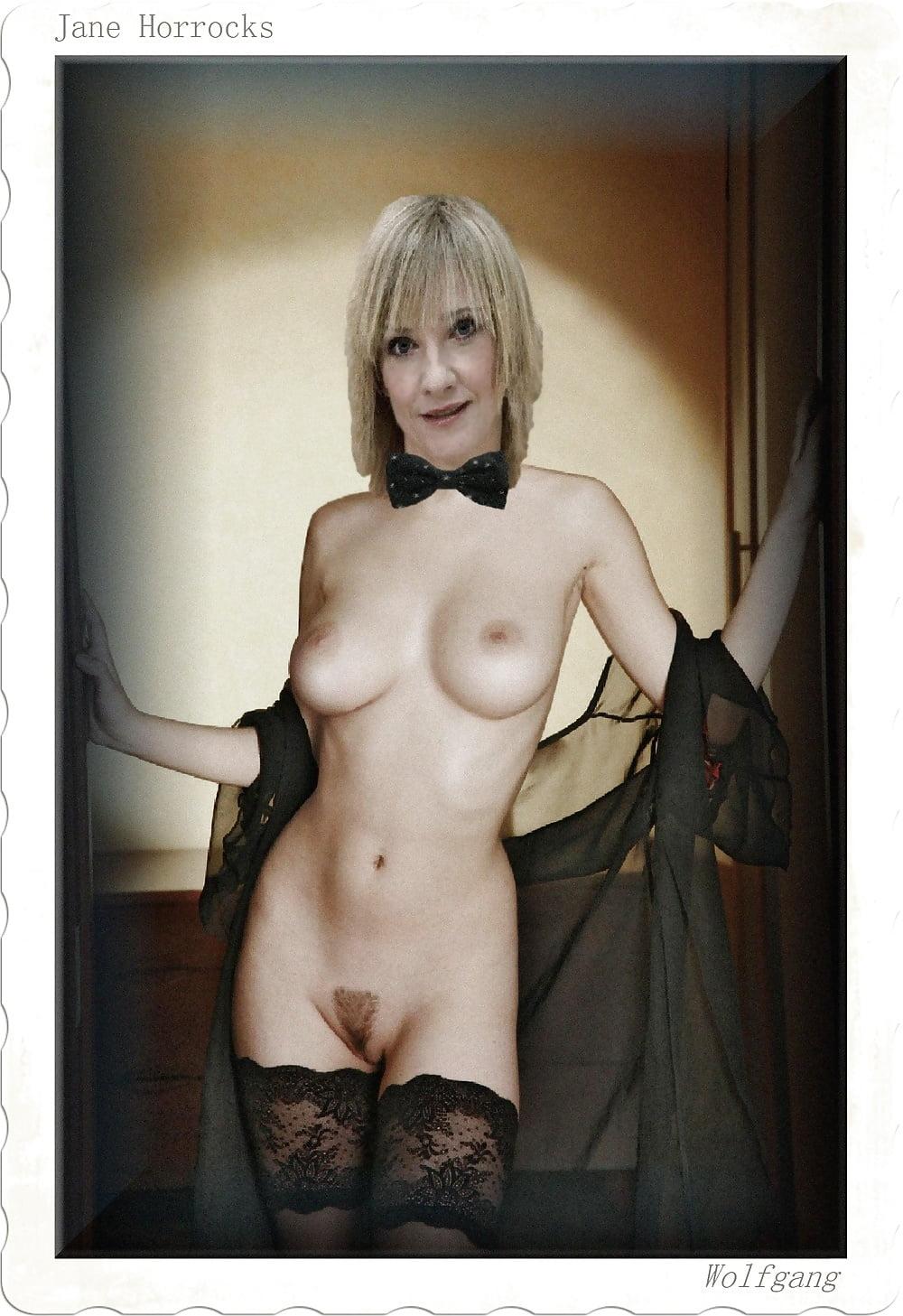 Jane horrocks nude cumception