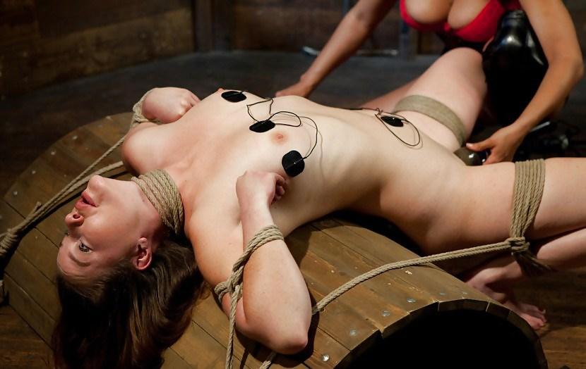 Shocked pussy bdsm torture — 11