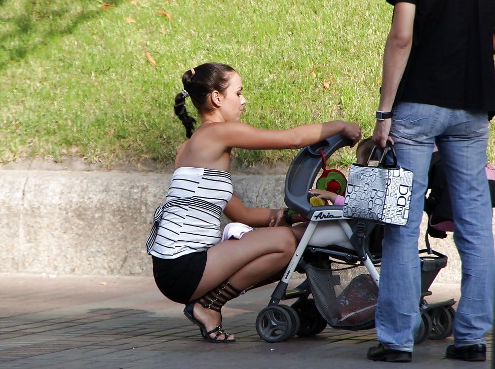 Трахнуть с коляской