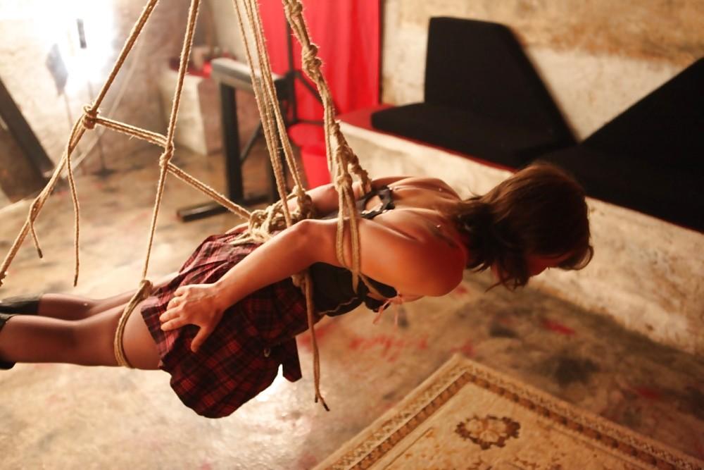 Luna rodriguez y dracox shibari erotic show en el feda 2015 - 3 part 1