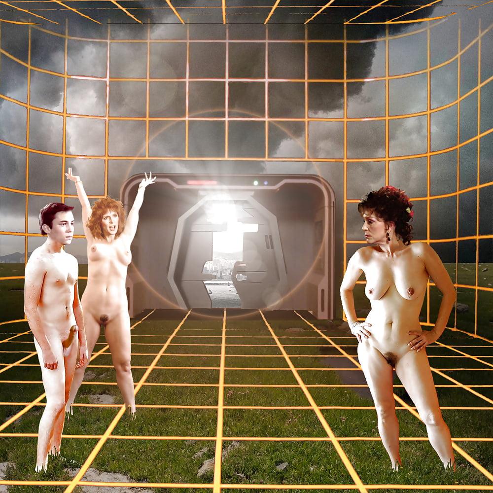 Women of star trek next generation naked