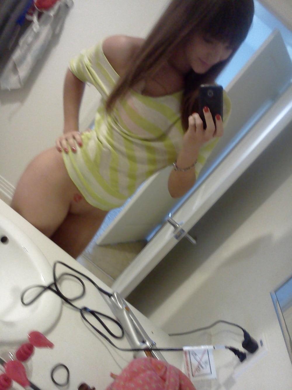 Hot brunette college girl-2094