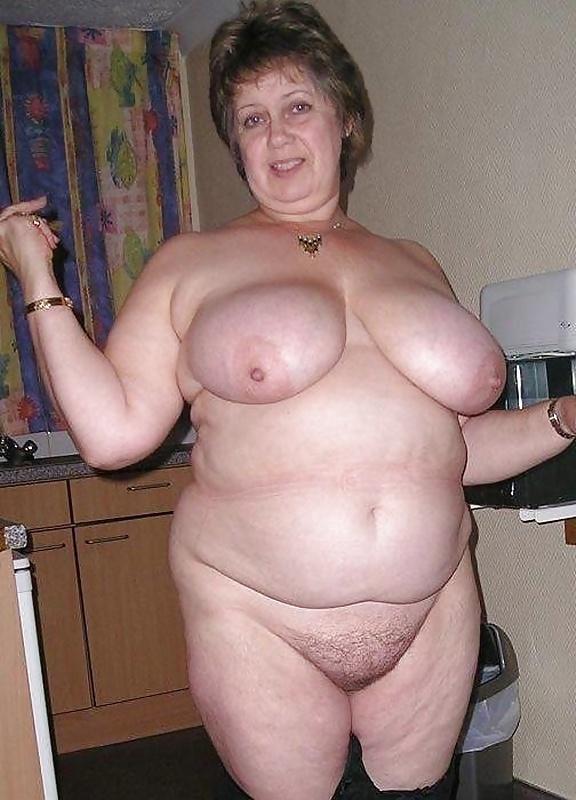 Mature fatty granny