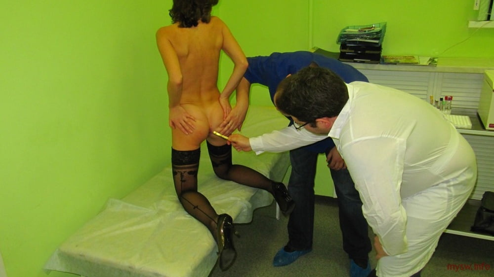 Examination by a doctor - 50 Pics