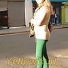 Loira de calca verde, viu que tiramos umas fotos dela - BR