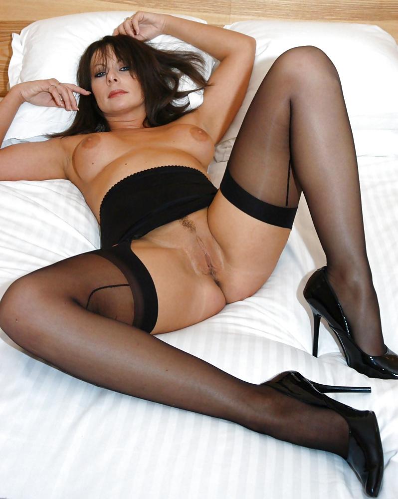 Buy Women's Stockings Floral Lace Hem Fishnet Sexy Sexy Lingerie Stockings Fancy Stockings