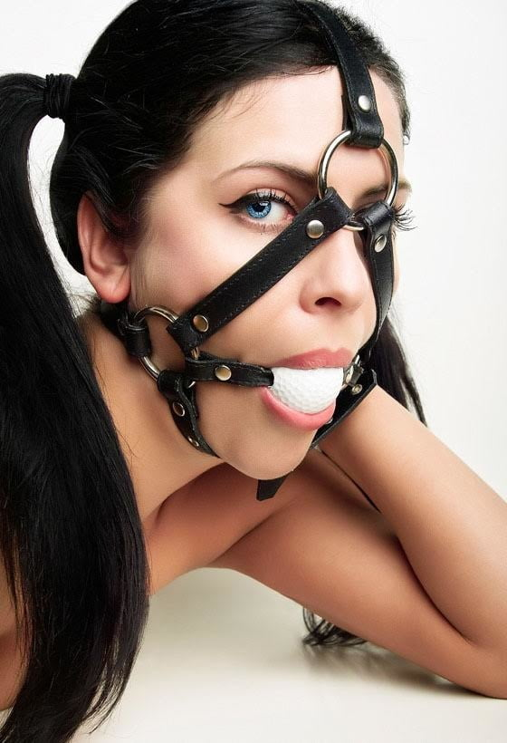 Tied mouth gag gagged briefs cock #14