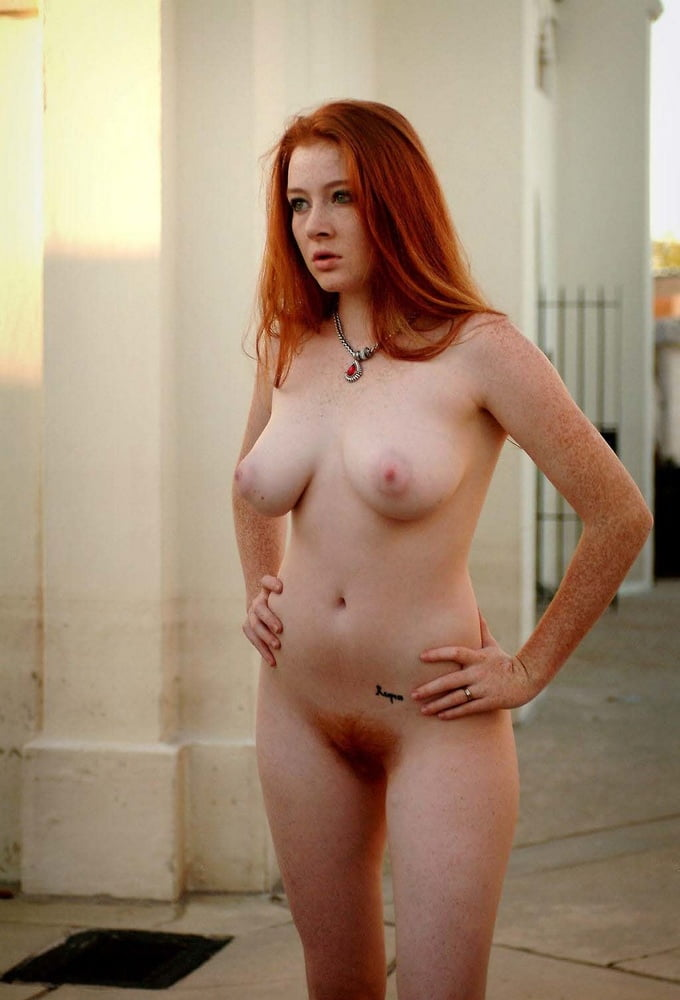 Peach naked naked redheads with the bush to match