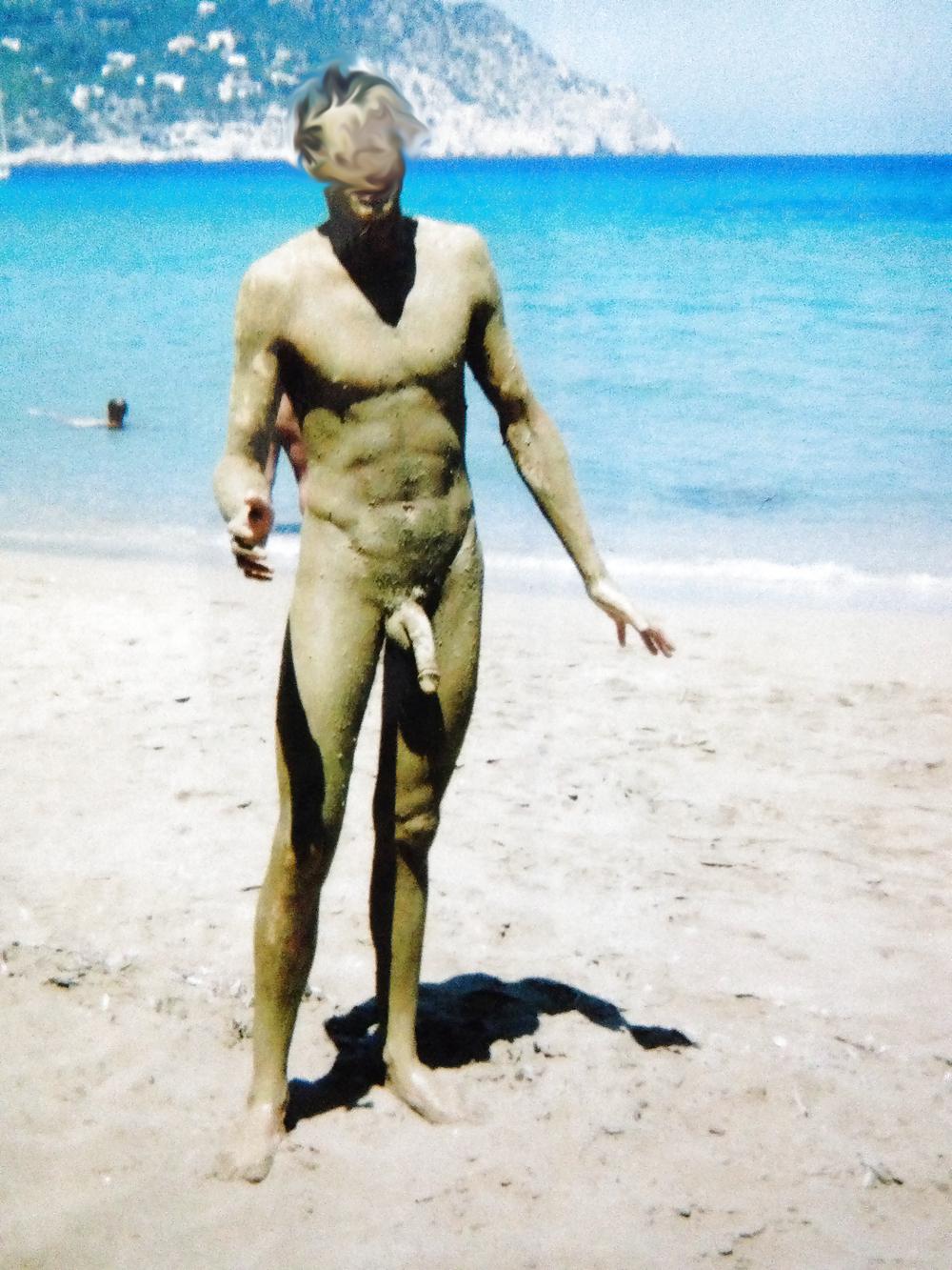 man nude long Dick