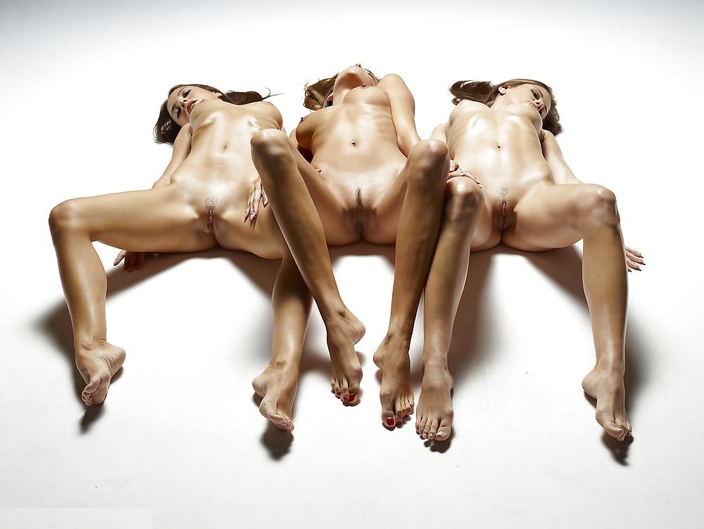 Hegre Model Dominika Showing Meaty Pussy Lips