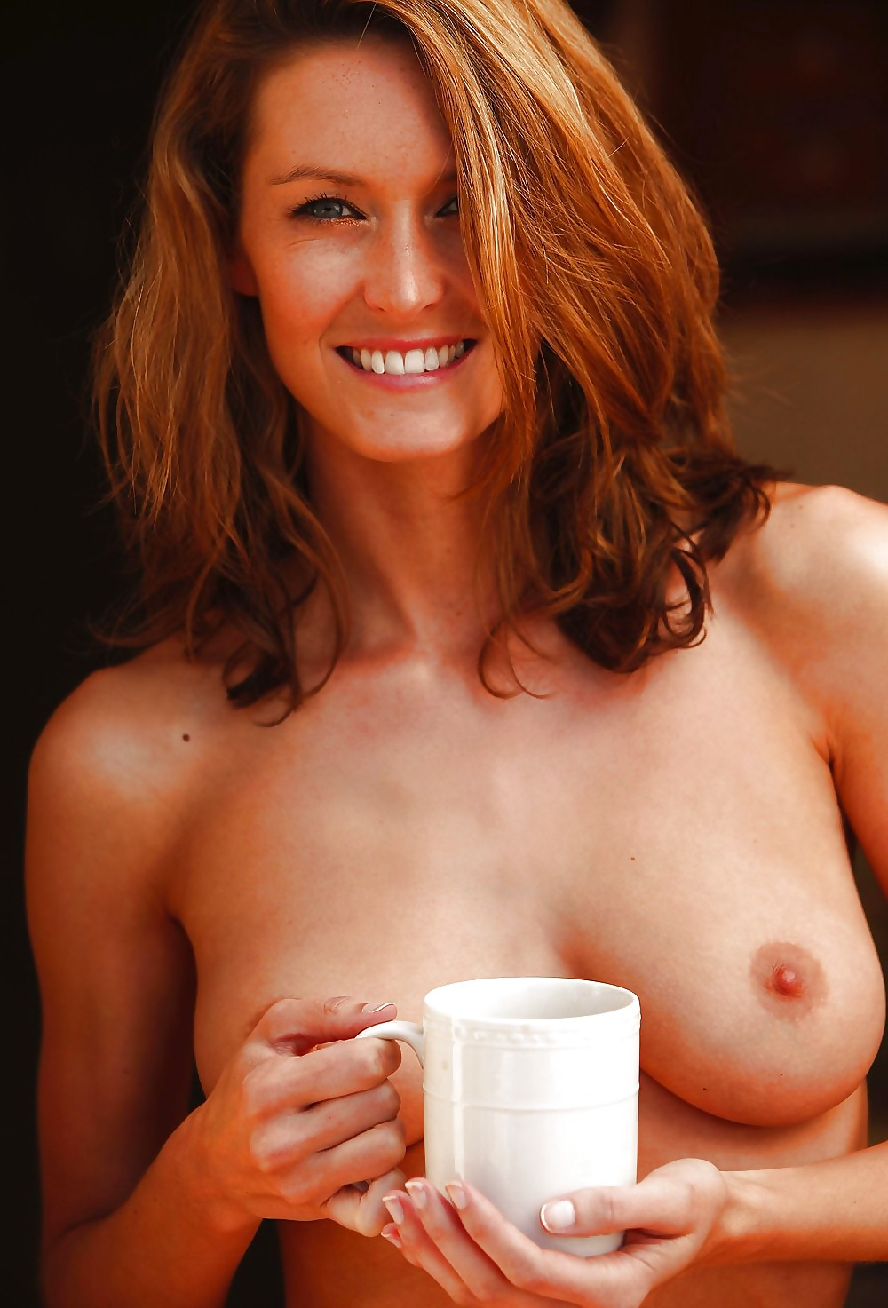 Naked with a cup of coffee — img 7