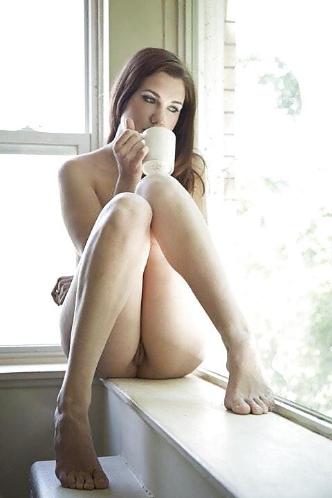 Hot girl in knee high socks has morning sex bubbleclips