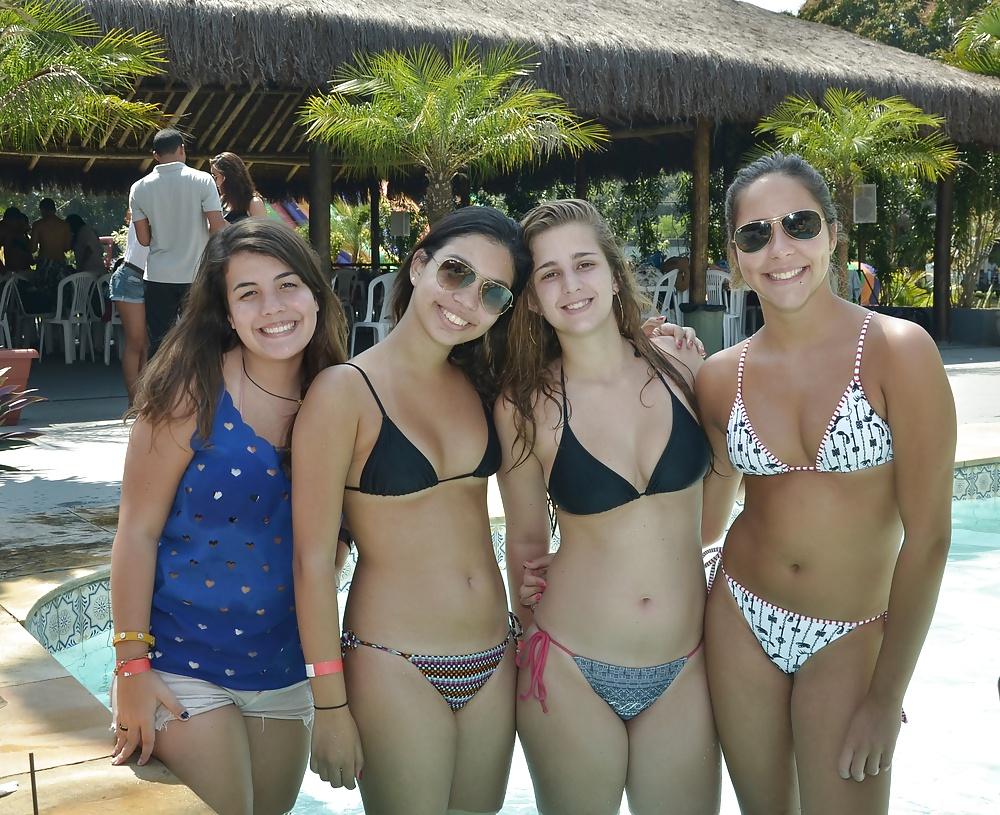 Teen beach or pool pics naked ass petite