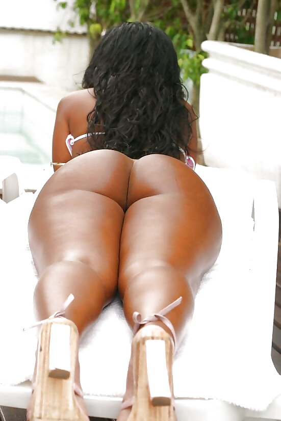 Hot black women with big asses naked — 2