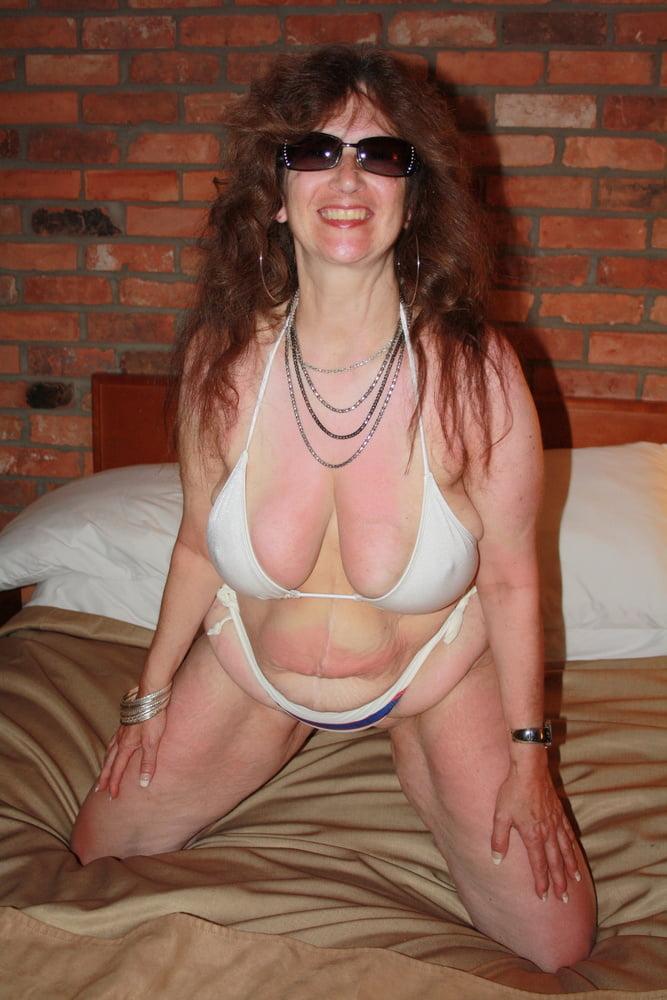 Mature women in skimpy bikinis-7766
