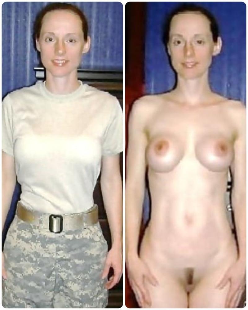 Dressed undressed amateur Dressed And