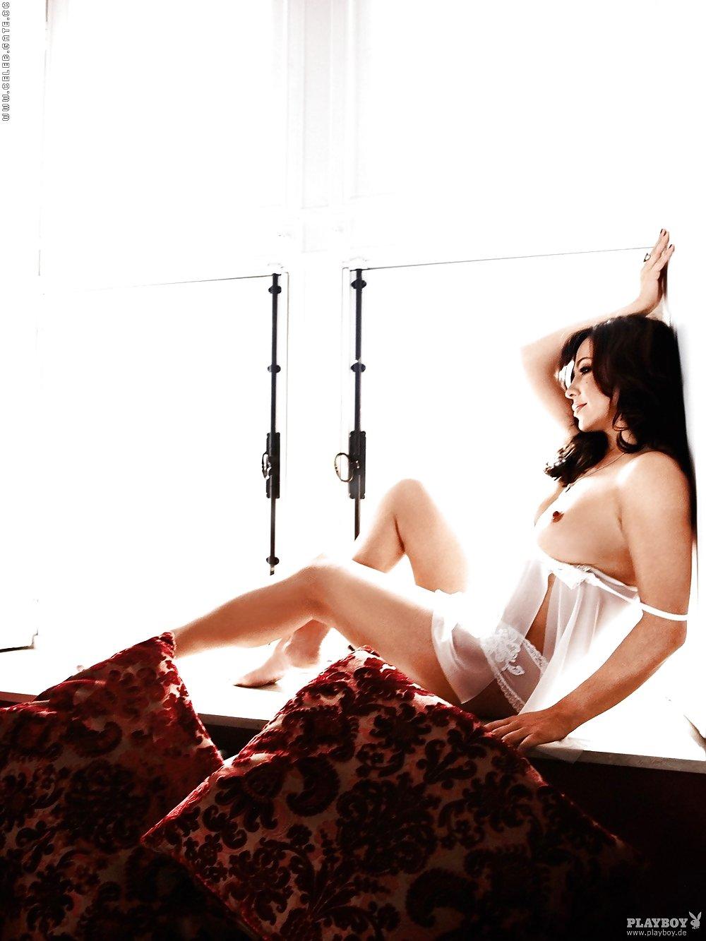 Playboy Simone Thomalla