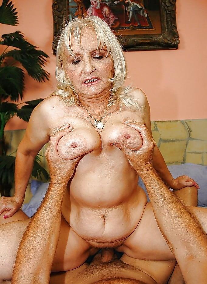 Granny porn blonde — photo 15