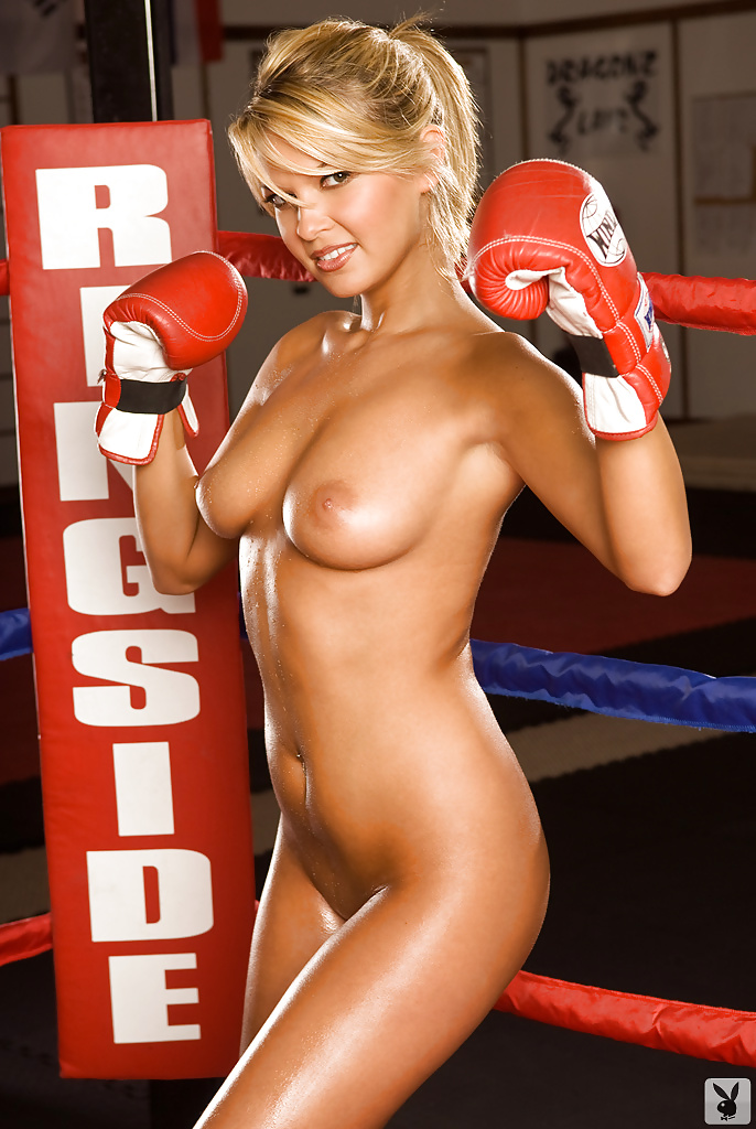Girls boxing boys naked — pic 4