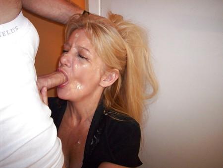 cock Mature sucking women
