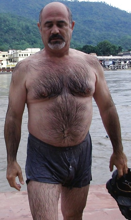 Chest excited naked old men divas who