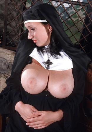 Nuns flashing their boobs top porn images