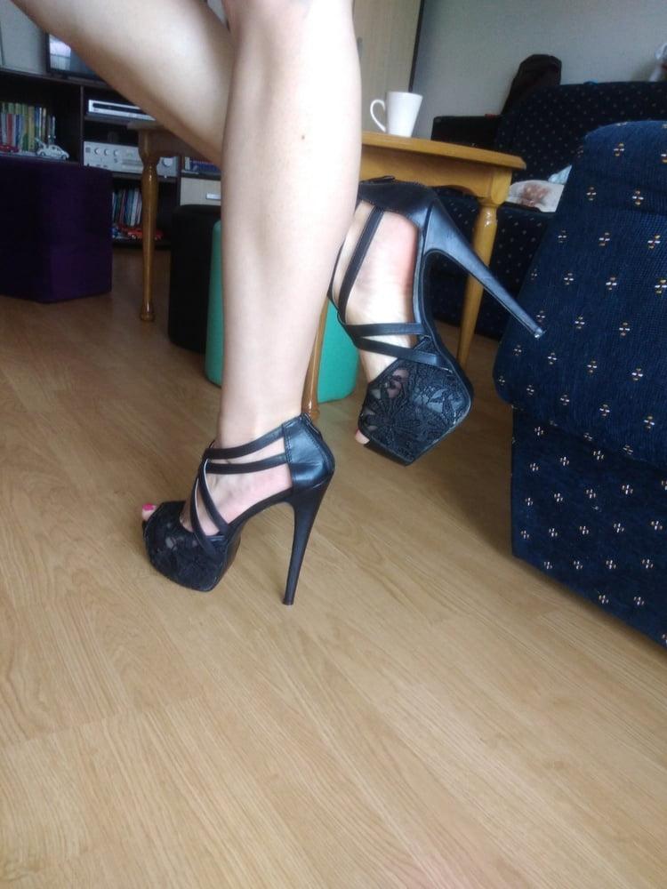 My wife's feet - 10 Pics