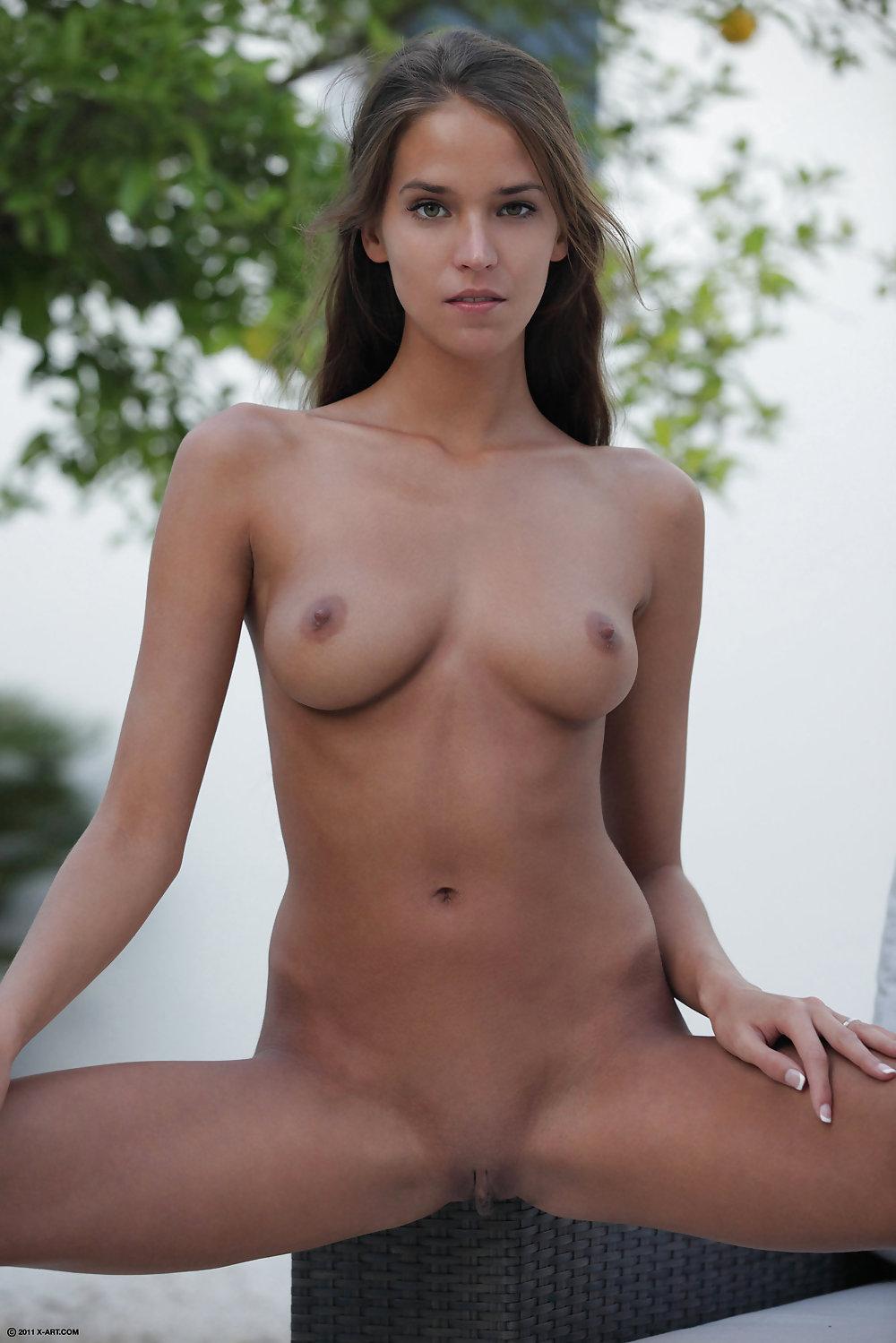 Naked tan boobs-8436
