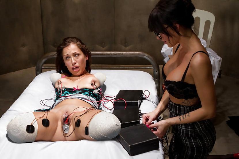 Electrified pussy bondage porn