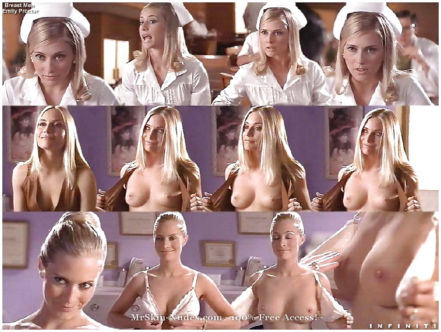 Celebrity Emily Procter Flashes Her Tits