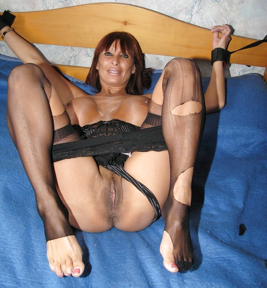 French Mature Cougar Anal