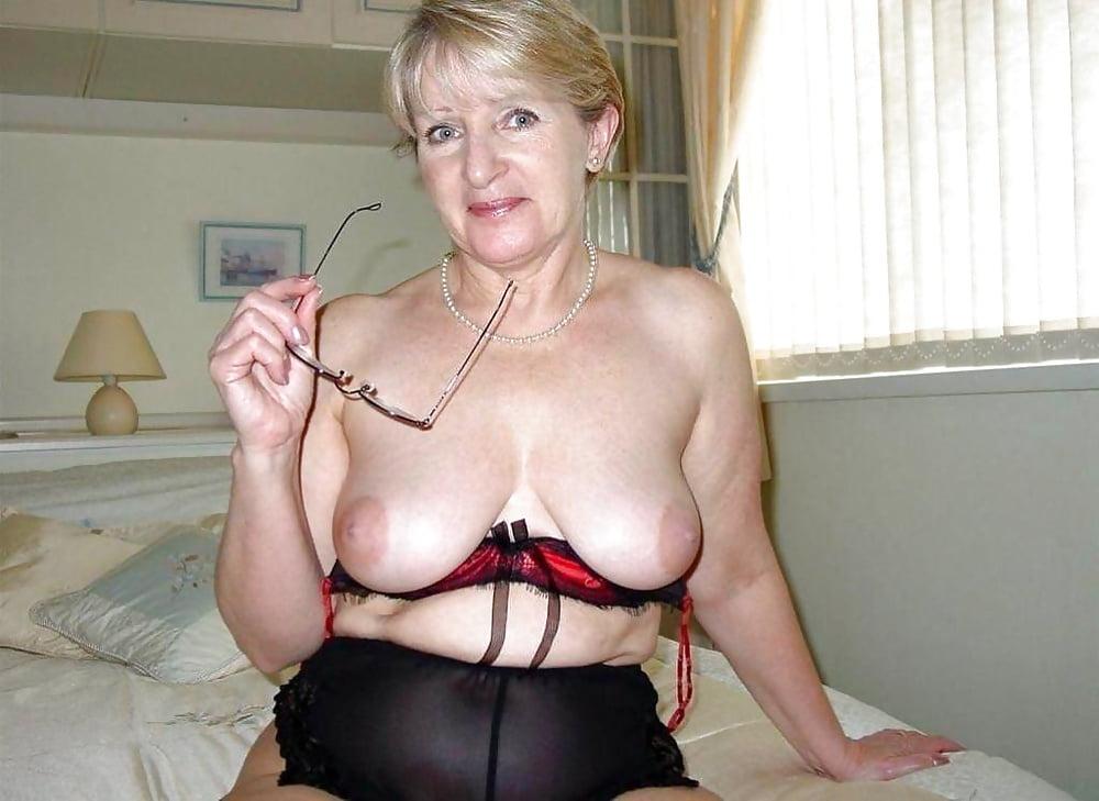 Belucci grannys tits
