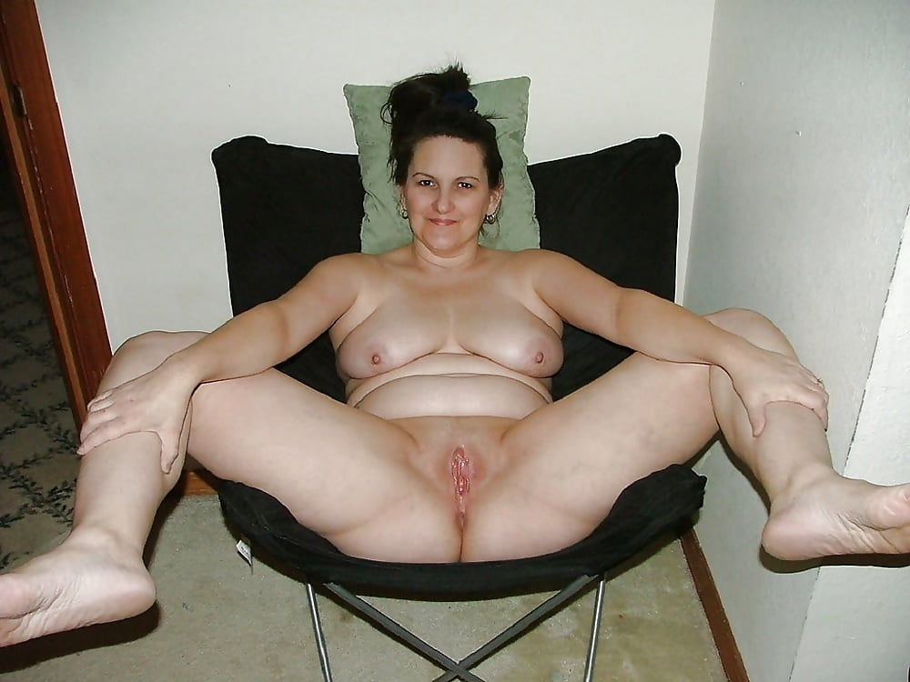 Naked ladies with their legs spread #10