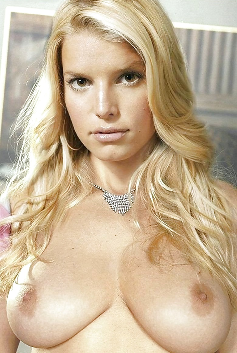 Celebrity nude and famous jessica simpson