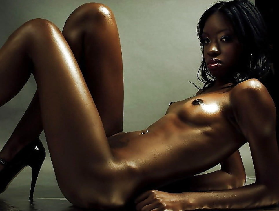 Barely legal black girl strips nude live on cam