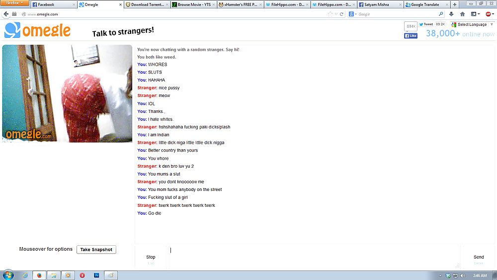 Omegle yellow duckie meets some nice tits and pussy omg - 1 part 1