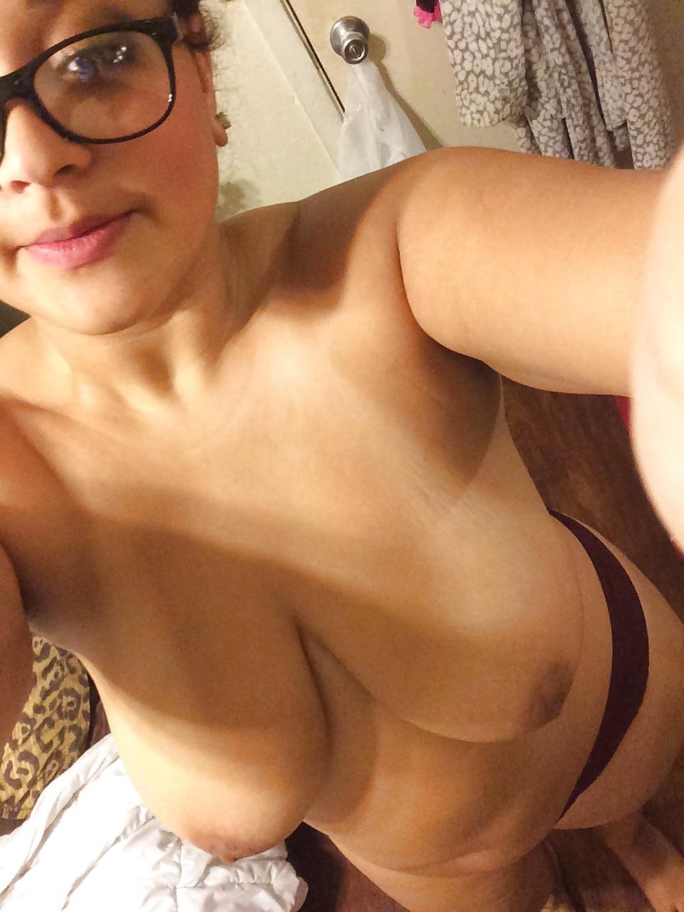 Old big black boobs-9804