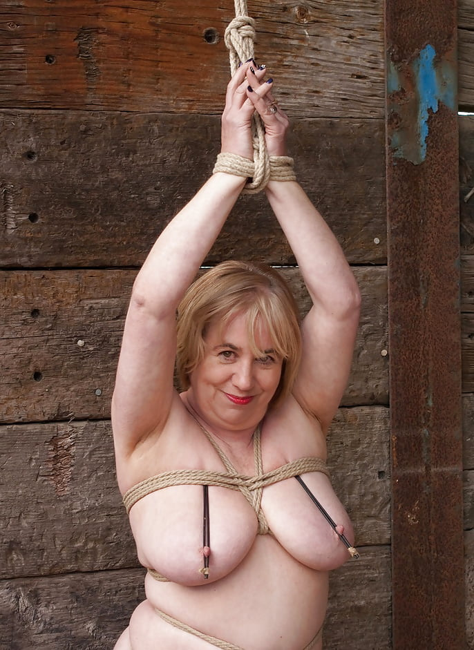 Popular bondage old porn pics and bondage granny sex images