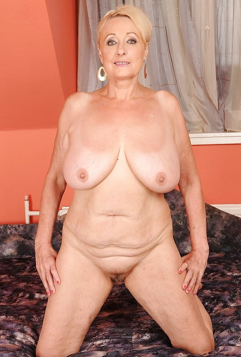 Busty old ladies naked 9