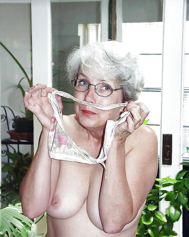 Tits school granny glasses nude who