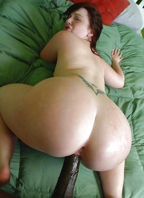 Chubby white girl big ass