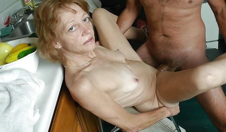 Skinny mature nudes