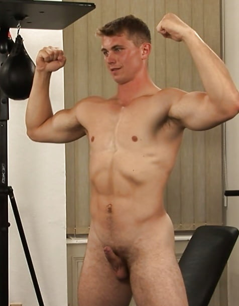 Handsome Nudist Boy With A Small Penis