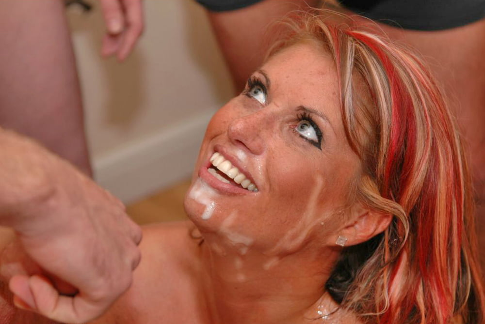 Tik Tok Hot Jerking Off And Cum In Mouth, On Face Of Beautiful Amateur Milf