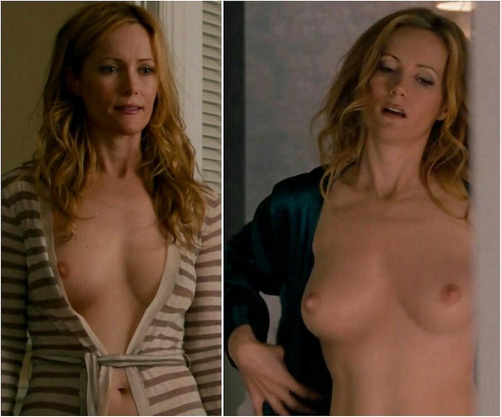 Mann boobs leslie Exposed Celebrities