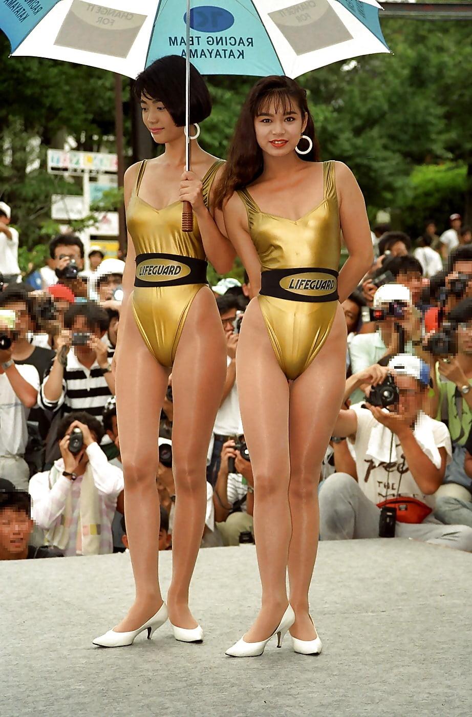 Japanese race queen benetton - 4 3
