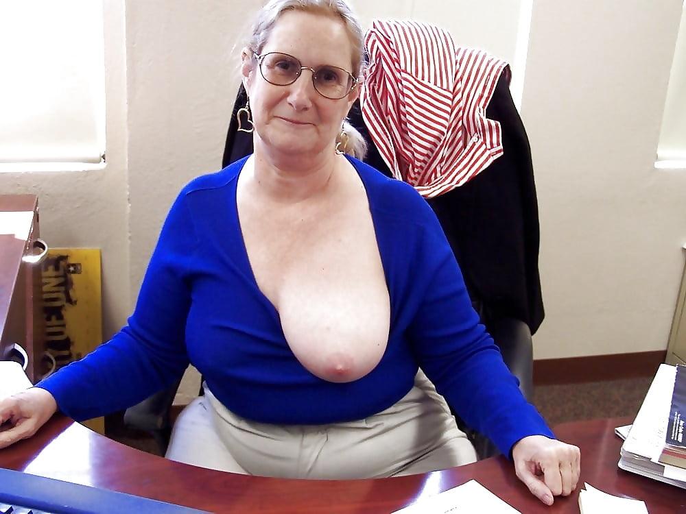 Beauties saggy granny tits pics